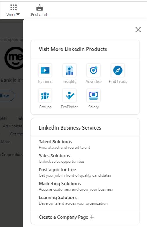 LinkedIn Company Page Set Up 1